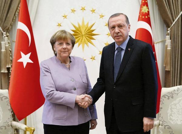 Erdogan Merkel 1