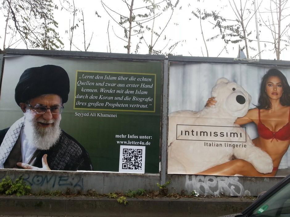 nachbarschaft das linke plakat