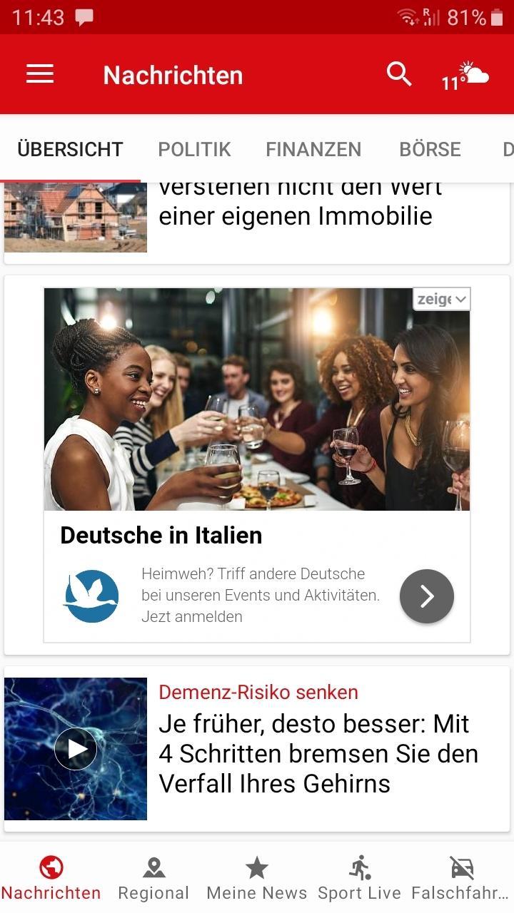 Deutscheinitalien