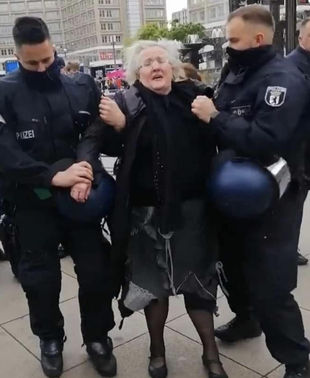Verhaftung Angelika Barbe