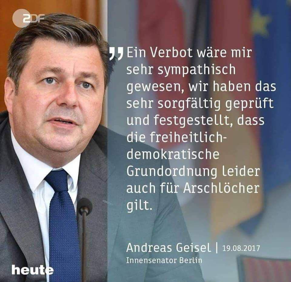 Geisel Arschlöcher