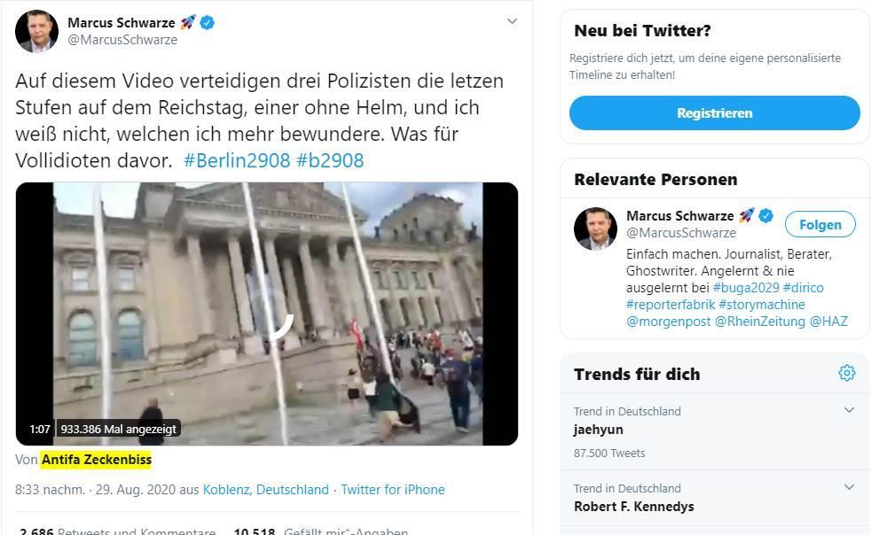 Sturm auf den Reichstag 1