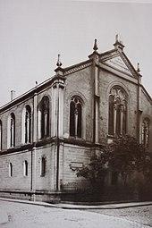 Heidelberg Synagoge 1878