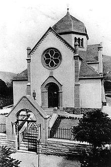 Weinheim Synagoge 1906